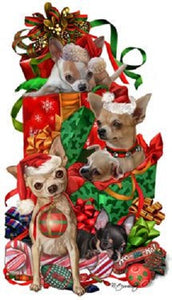Chihuahua Holiday Towel