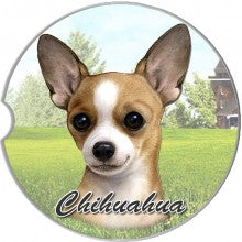 Chihuahua car coasters