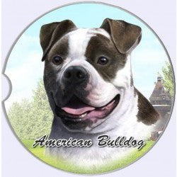 American Bulldog Car Coasters
