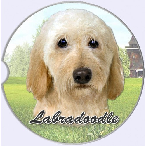 Labradoodle Car Coasters