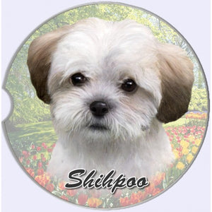 Shih Poo Car Coaster