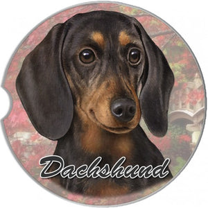 Dachshund Car Coasters