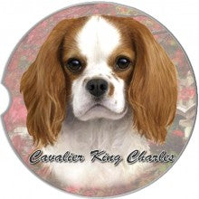 Cavalier King Charles car coasters