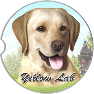 Labrador Car coasters