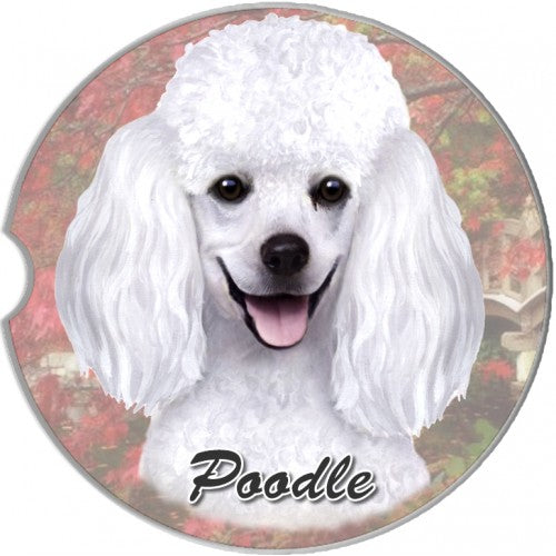 Poodle Car coaster