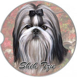 Shih Tzu Car Coaster