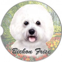 Bichon Frise Car coasters