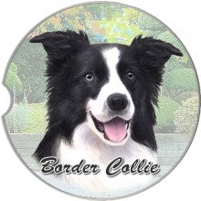 Border Collie Car costers
