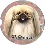 Pekingese Car Coasters
