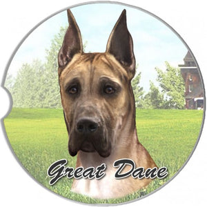 Great Dane Car Coasters