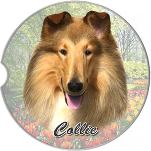 Collie Car Coaster
