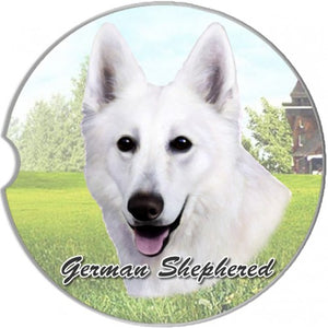 German Shepherd Car Coasters