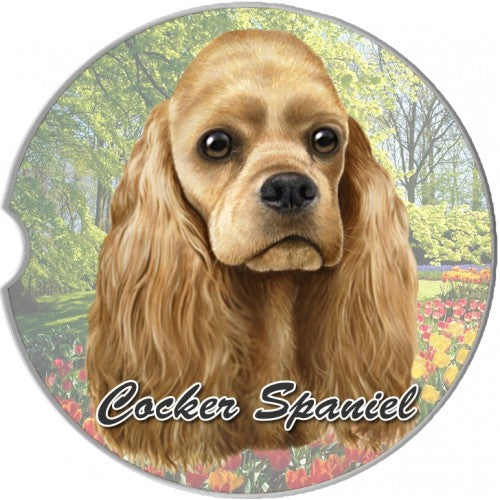 Cocker Spaniel Car Coasters