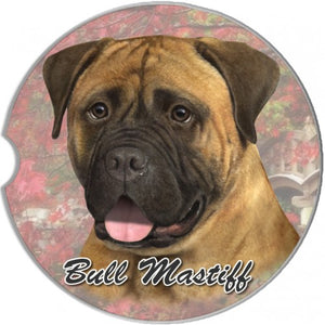 Bull Mastiff Car Coasters