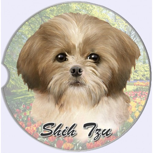 Shih Tzu Car Coasters