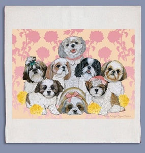 Shih Tzu Kitchen Towel