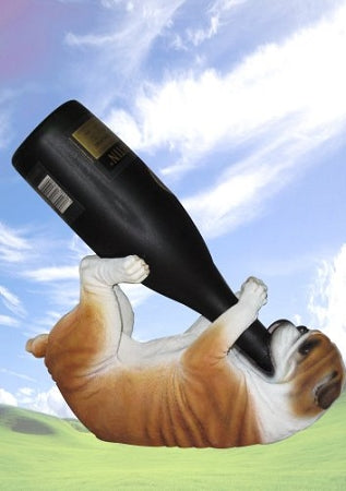 Bulldog Wine holder