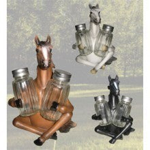 Equine salt & pepper shakers