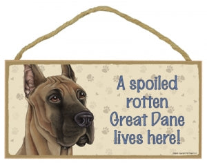Great Dane -Plaques