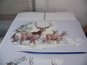 Deer placemats set of 4