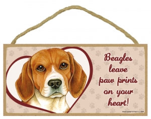 Beagle - A house is not a home Plaque