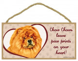 Chow - A house is not a home- Plaques