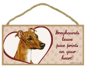Greyhound - A house is not a home Plaque