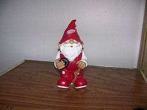Detroit Redwings Mini Gnome