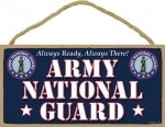 Army National guard Plaque