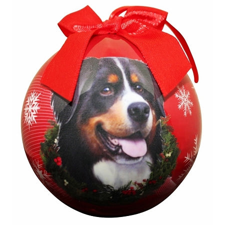 Bernese Mountain Dog Christmas Ball ornament