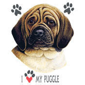 I love my Puggle Shirt