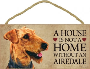 Airedale - Plaques