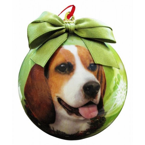 Beagle ball Christmas Ornaments