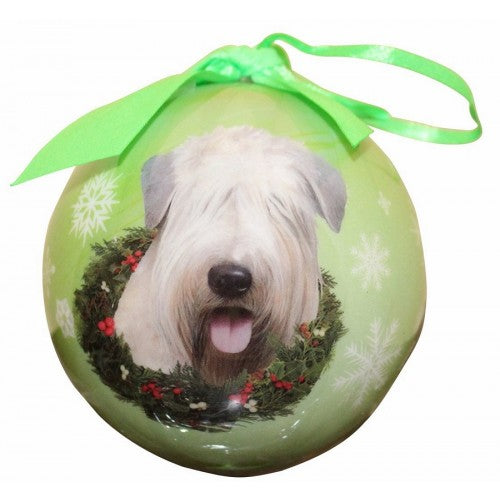 Soft coat Wheaten terrier Christmas Ornament