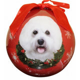 Bichon ball Christmas Ornament