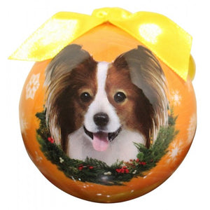 Papillion Ball Christmas ornament