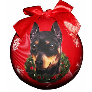 Min Pin ball Christmas ornaments