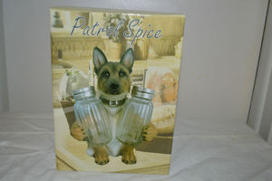 German Shepherd Salt & pepper shaker