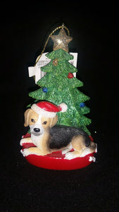 Beagle Resin Ornament