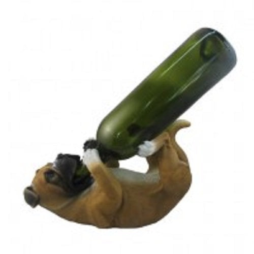 Boxer wine holder