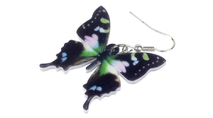 Butterfly acrylic earrings