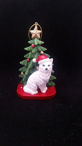 Cat Resin Ornament