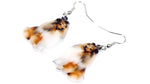 Collie acrylic earrings