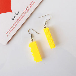 Adorable lego earrings