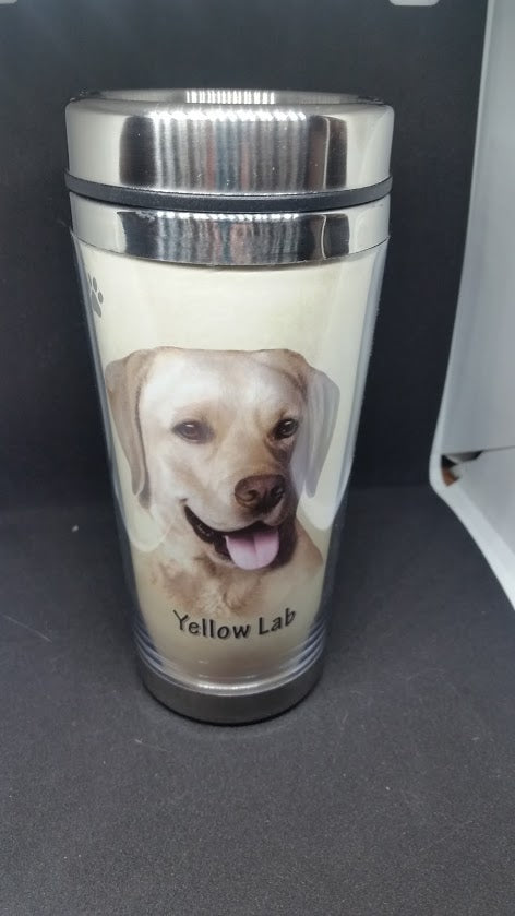 Yellow Lab Tumbler