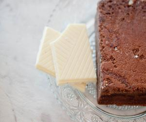 Gluten Free White Chocolate Brownie