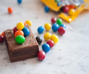 M & Ms Brownie