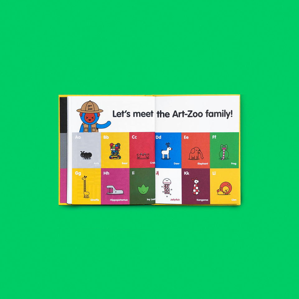 Art-Zoo A-Z Book (English ed.)