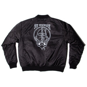 TURTLE HEAD BOMBER JACKET -BLACK-