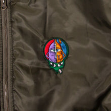 TURTLE HEAD BOMBER JACKET -OLIVE-